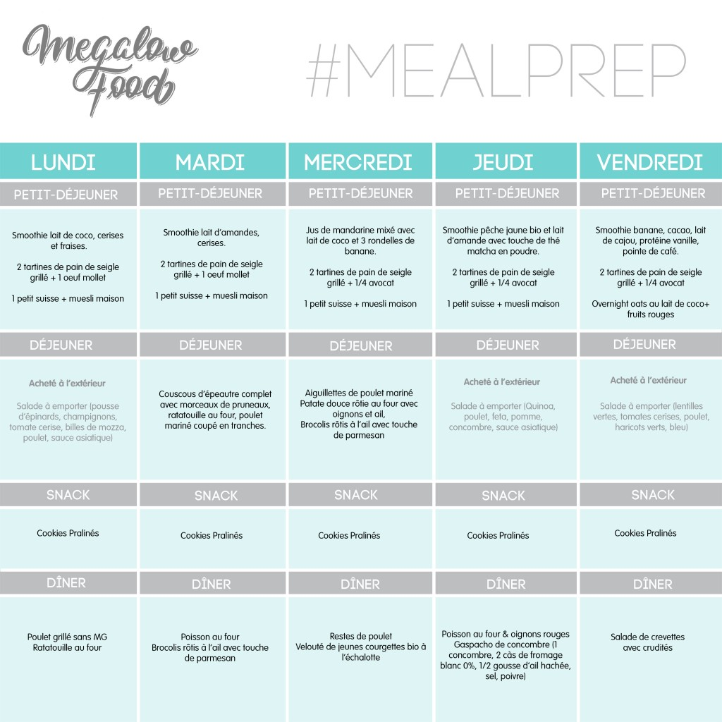 MEAL PLAN MEGALOWFOOD sem02