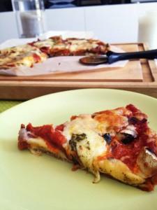 Pizza saine megalow food