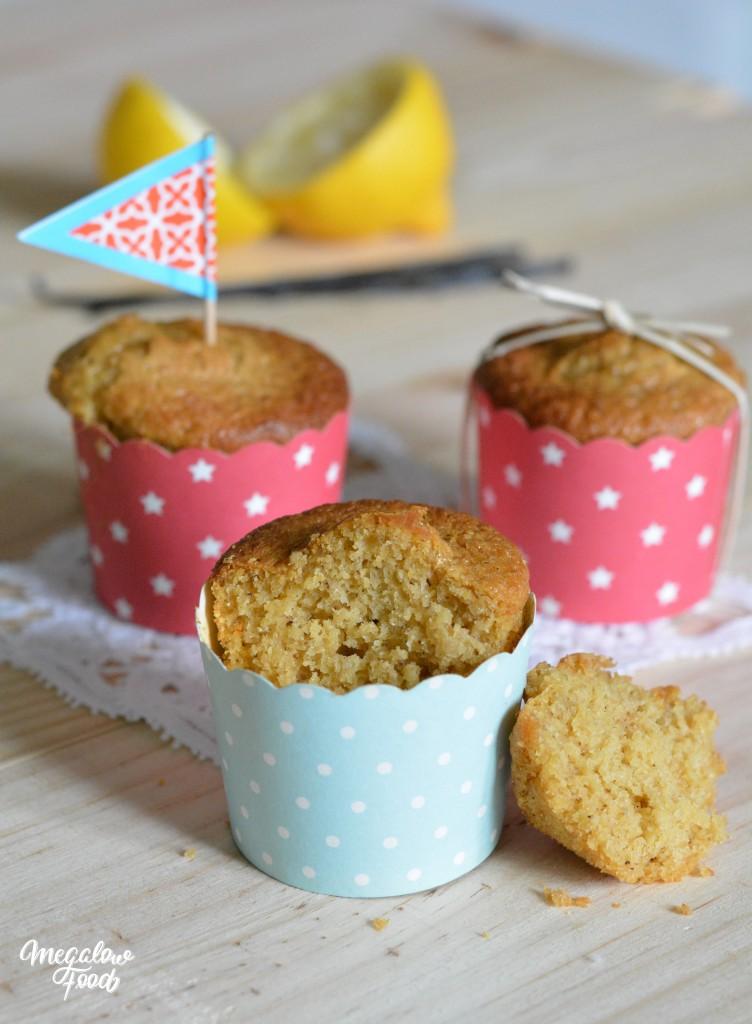 Muffins citron vanille