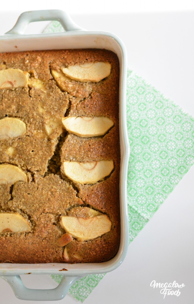 Pain moelleux pomme & citron 2 Megalow Food
