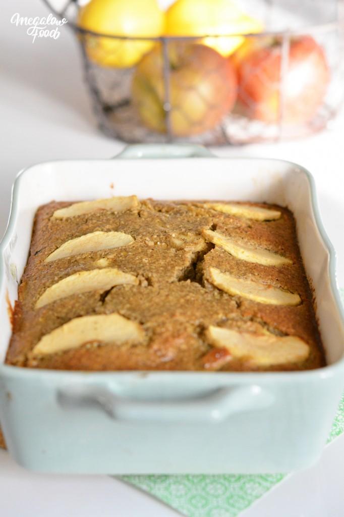 Pain moelleux pomme & citron Megalow Food