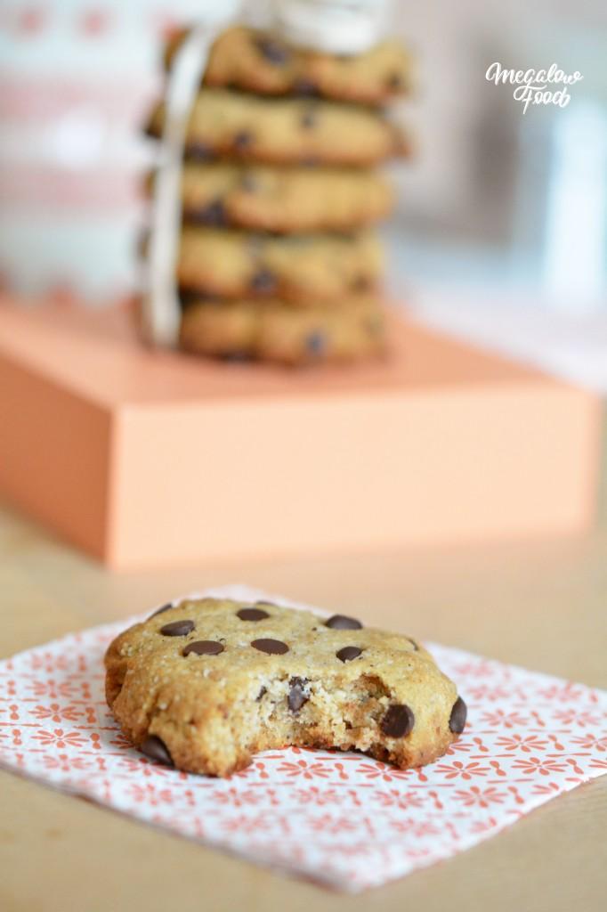 Cookies vanille chocolat Megalow Food