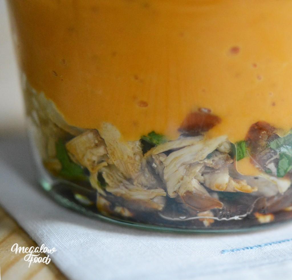 Gratin de patate douce et poulet Megalowfood 2