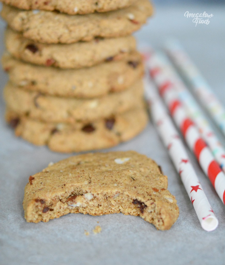 Cookies à l'okara et à l'amande Megalow Food