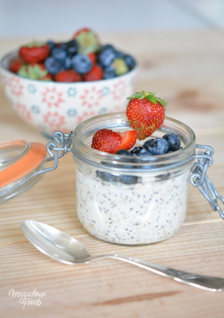 Overnight Oats Megalow Food