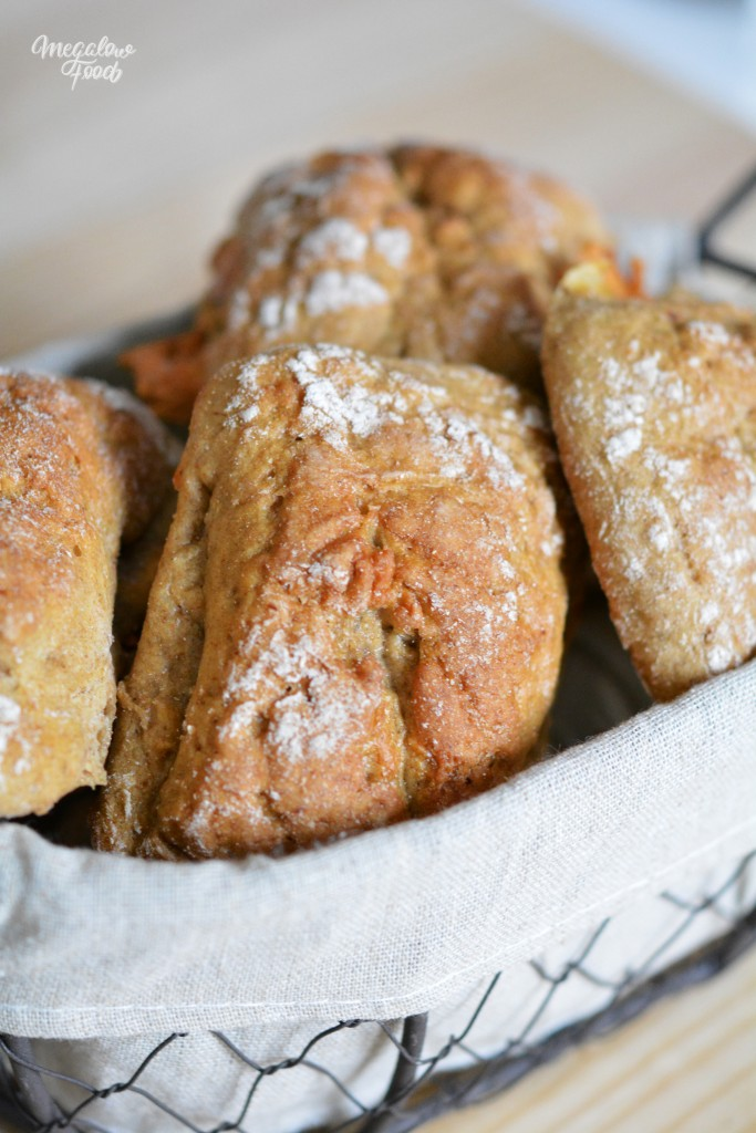 Petits pains de seigle fromage et jambon cru megalowfood 2