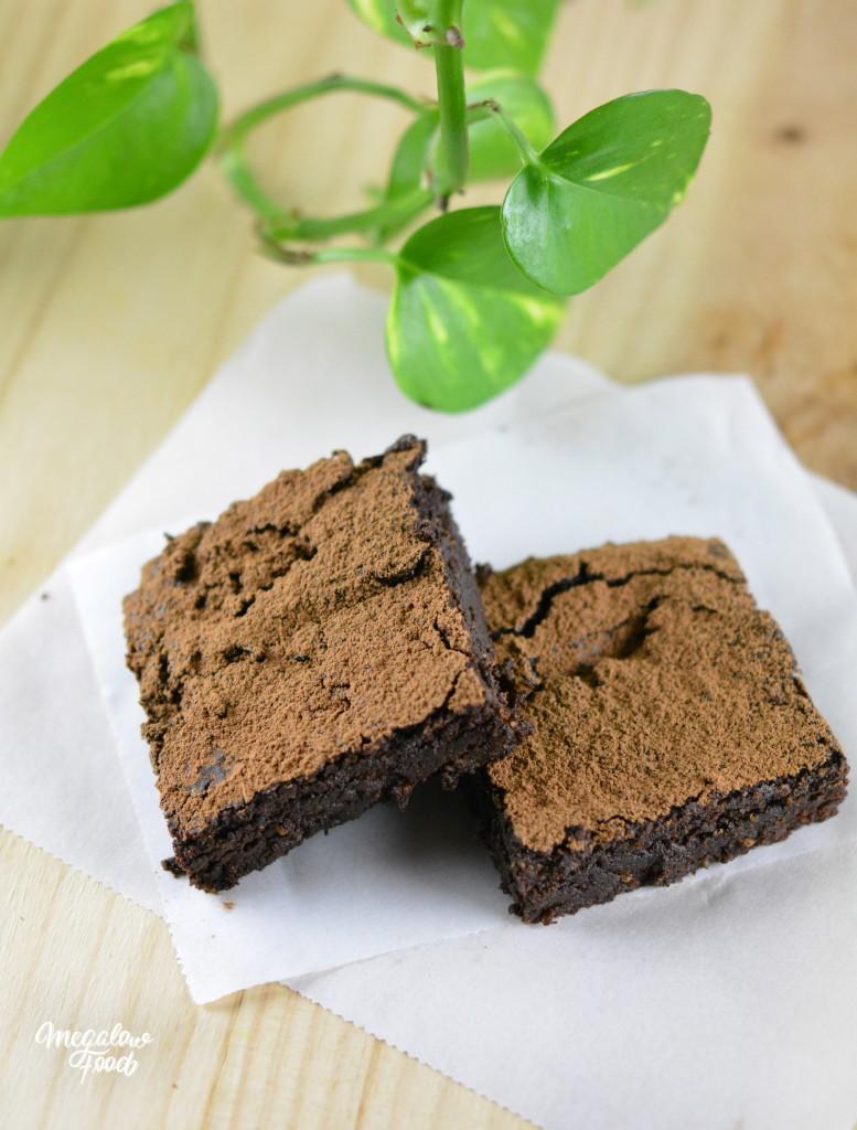 Brownie vegan megalowfood
