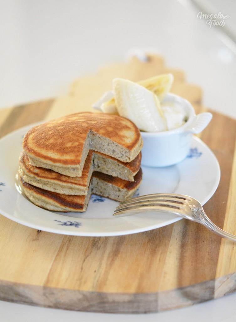 Ricotta hotcakes IG bas megalowfood