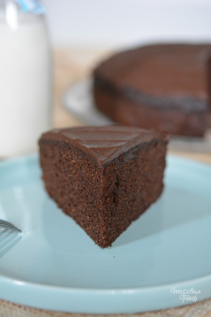 Chocolate fudge cake Megalowfood 2