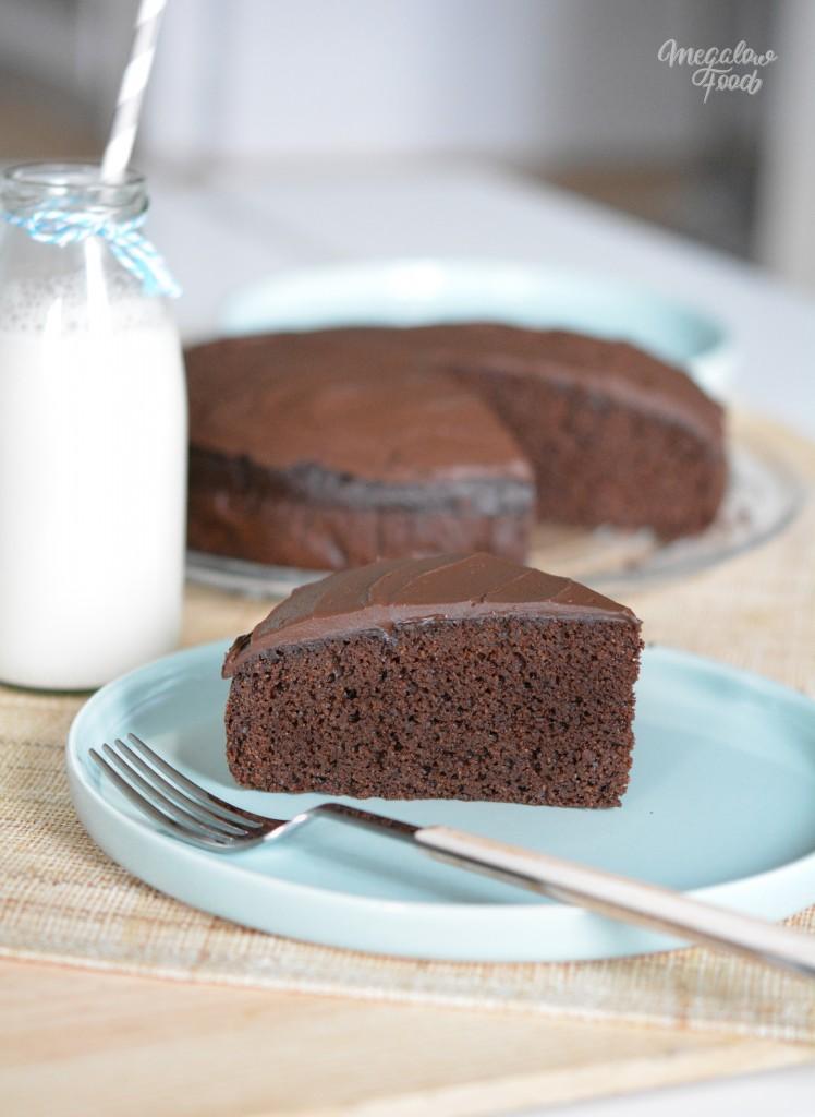 Chocolate fudge cake Megalowfood